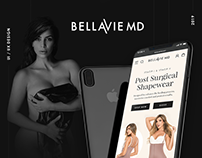 UX/UI for BellaVie online store