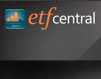 ETF Central mobile app and Microsite