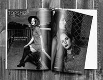 TOPSHOP 2015 Print Ad