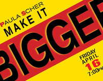 Paula Scher event for AIGA