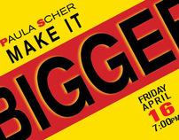 Paula Scher event for AIGA