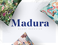Madura Paris - Eshop redesign