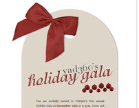 Holiday Gala HTML Email