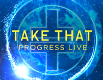 Take That Progress Live CD commercial
