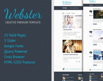 Webster Premium HTML Template