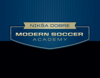 Modern Soccer Postcard