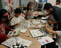 Yollocalli/CARES 2012: Drawing and Comic Class