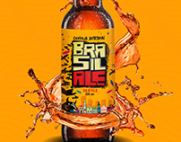 Cerveja Artesanal Brasil Ale /Artesanal Beer Brasil Ale