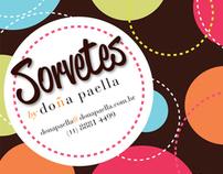 Sorvetes Doña Paella flyer