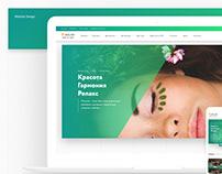 Aloha SPA website design