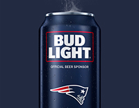 Bud Light NFL Cans