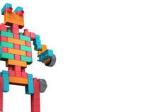 Brinquedo de Encaixe - Millah Brinquedos