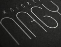 Kriszti Nagy Brand Identity