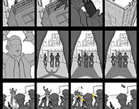 Mobile Comic Storyboards