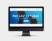 Pet Lover Market - Ecommerce Web Design