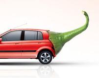 Hyundai Getz - Advertising