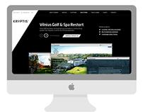 Kryptis web design concept