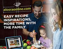 Alosra Online Website Campaign