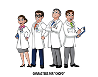 Character Design - Doctors