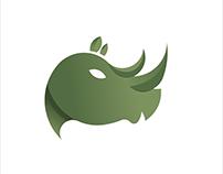 Rhinos Logo with Golden Ratio