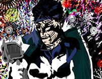 psychedelic Punisher Art