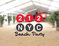 212 - Beach Party 2016