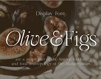 Olive & Figs - Regal Classic Serif