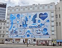 PZU mural