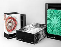 Illusory perfume packaging