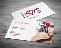 :: Mary Kay (business card)