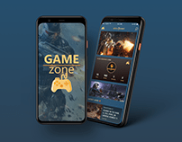 Mobile UI/UX Design: Game Zone