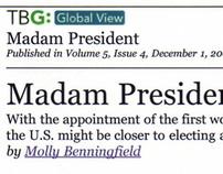 Madam President article