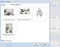 Interactive Visual Resource Library - Design & Dev