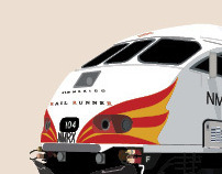 New Mexico Rail Runner Route Map