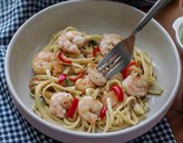 Srimp pasta