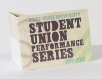 Student Union Performance Series Mailer
