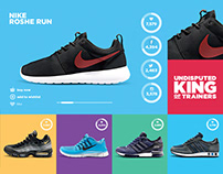 King of Trainers - Campaign Landing Page