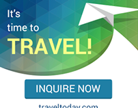 Travel - Vacation Ad Marketing Banners