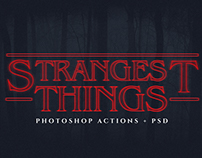 Stranger Things Ps Text Actions