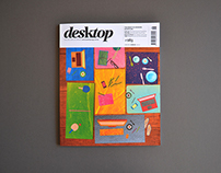 DESKTOP MAGAZINE -  June Issue Cover Design