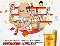 Cruzcampo advertising posters