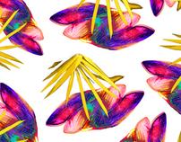 Design de Estampas - FLORES (com variações de cores)