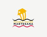 Piccolo Teatro Martesana Logo Design