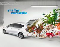 Toyota Prius V campaign