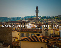 Amazing Wonders Book and Brand Design