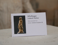 Lisbeth Nielsens business card