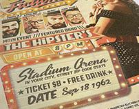 PULP Retro 1960's Flyer