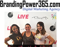 #DanceFitPro Step & Repeat/Stickers #brandingpower365