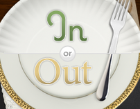 In or Out - Dining App