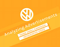 Analyzing Advertisements Infograph  - Think Small